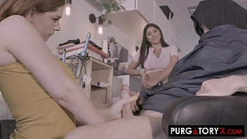 Streaming Video PURGATORYX Trim and a Shave Vol 1 Part 2 with Annabel and Violet - XLXX.video