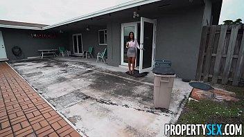 PropertySex Hot Agent With Great Ass Fucks Handyman thumbnail