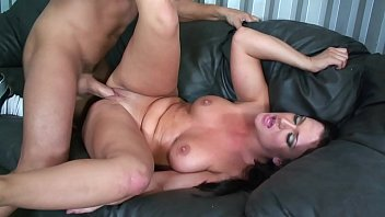 Big Tits hot Brunette Babysitter fucked hard & rough gets a facial cumshot