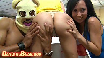 Watch nude bears - Dancing bear - group of horny hoes taking dick from male strippers, cfnm style