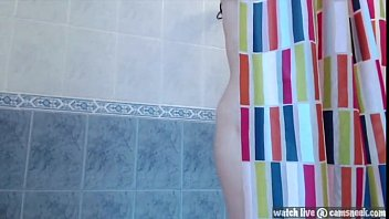 amateur asian shower show