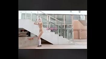 少女露出跳书记舞