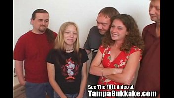 Two Girl Group Sex Tampa Bukkake After Party