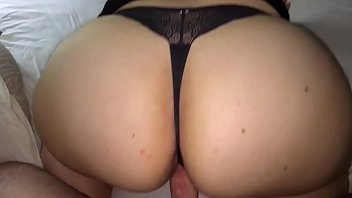 House wife with beautiful big ass, in a sexy thong. Miss D needs a bigger cock.