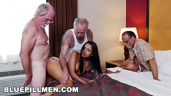 Sexy mens perfume Blue pill men - three old men and a latin lady named nikki kay