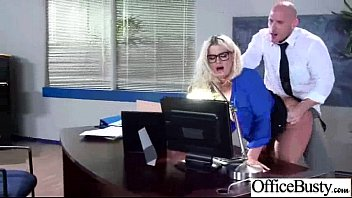 Horny Worker Girl (julie cash) With Big Tits Nailed In Office mov-19