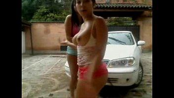 lavando auto   Video Make Love