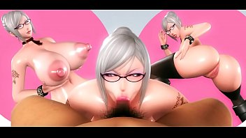 Shiraki Meiko Prison School 3D Blowjob Loop