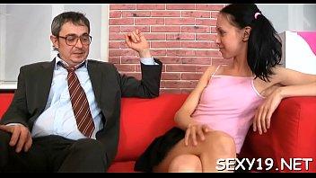 In order to pass her exam babe is delighting her teacher's schlong
