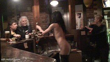 Crazy Nikol Vanilla naked on public streets