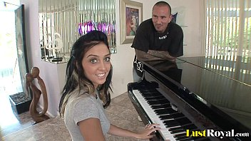 Stephanies pussy - After a piano lesson stephanie cane gets satisfied