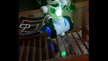 Robot con un culo impresionante
