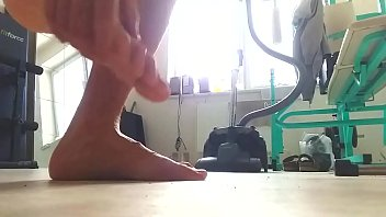 Naked Boy Is Playing With His Dick In Fitness
