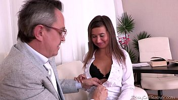 Russian sex teachers - Being young and inexperienced maia thinks she wants to suck her teachers cock