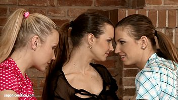 Passionate Threesome - by Sapphic Erotica lesbian sex with Klara Juliette Tania