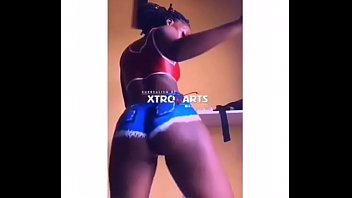 One of my models shaking that ebony ass.