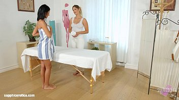 Fantasy erotica stories Mira sunset and vivien bell in sapphic massage lesbians by sapphix
