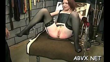 Free xxx porn bondage - Non-professional bondage xxx muff play with rough toys
