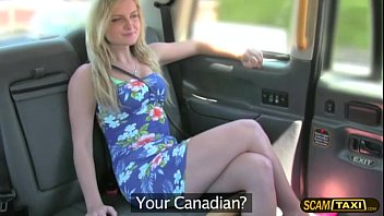 Free porn for mobile divide - Hottie blonde canadian slut pays anal sex for taxi ride