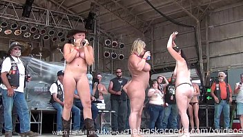 Sturgis biker girls naked Hot body biker rally contest in algona iowa