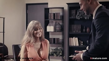 Older And Loyal Employee Meets The Young Boss - Darla Crane