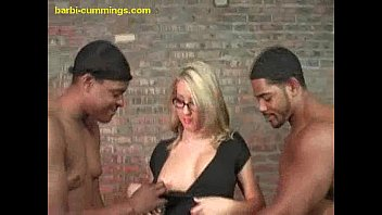 Vaginal cum shot barbi Interracial sucking in the middle