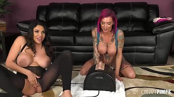 Big fake boobs lesbian - Missy martinez and anna bell peaks are one naughty pair