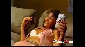 Slut granny gangbanged