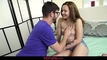 Teen rowing machine Karups - liza rowe gets her teen pussy drilled