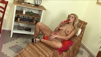 Hot and Sexy Big Tits Housewife go Solo when the Husband is not home