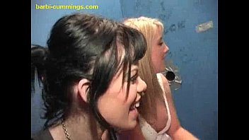 Vintage watch barbie Two white babes at a glory hole