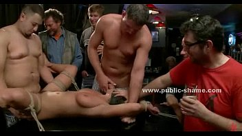 Public disgrace xxx - Chains and cuffs hold sluts tied