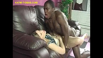 Interracial Fuck and Cum for Blonde