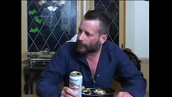 Wife save a woman and do DP with her husband and a drunk guy. thumbnail
