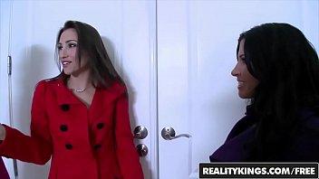 We Live Together - (Bree Daniels, Rebecca Linares, Celeste Star) - Lesbian Threesome - Reality Kings