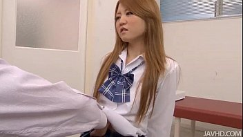 Sakamoto Hikari Is Given A Gyno Exam By A Very Horny Doctor