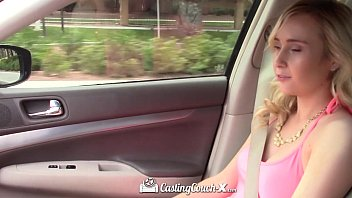 Castingcouch-X - Agent Fingers Newbie Peyton Coast Pussy In Car Ride
