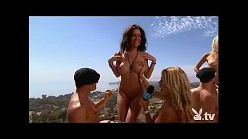 Adrienne curry playboy nude pics Insane bikini rock party