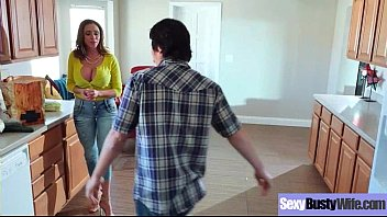Hard Style Sex Action On Cam Wtih Slut Busty Wife (Ariella Ferrera) vid-02