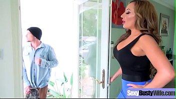 Puta esposa (richelle ryan) com grande melão mamas difícil banged video-24