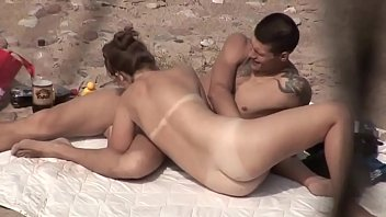 Young Couple Beach