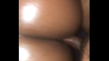 POV of phat ass oiled up!