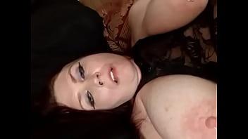 Pierced Nips Big Tits Sucking Them