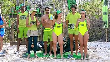 Descuidos Delia sabrosa en La Isla Nalgonas reto en agua