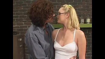 Enticing blonde girlie Amber Raye and her wild lust