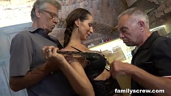 Insane Family Fucking a Stripper