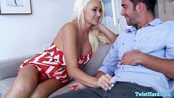 Summer Brielle Sucking On Hard Cock