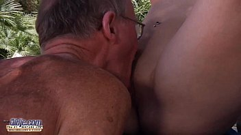 Sexy young babe fucked by an old man she swallows his cum after fucking