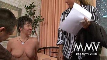German Mature Sex orgasm big-boobs
