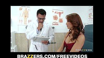 HOT redhead MILF Monique Alexander gets a checkup